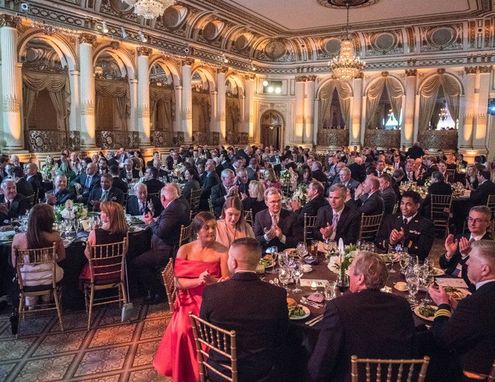 room full of people at the event in 2019